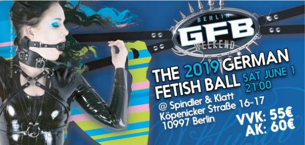 Ticket(s) for the German Fetish Ball June, 1st 2019
