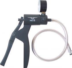 Vakuumpumpe mit Druckmesser