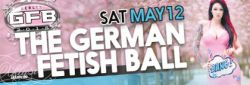 Karte(n) für den German Fetish Ball am 12. Mai 2018