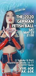 Karte(n) für den German Fetish Ball am 23. Mai 2020