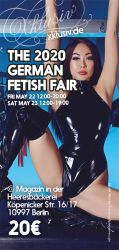Karte(n) für die German Fetish Fair 14.-15. Mai 2021